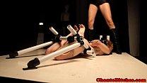 Lezdom mistress punishes by pinching pornhub video
