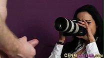 Cfnm agent gets cumshot pornhub video