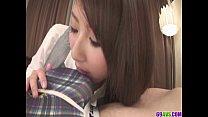 Mai Asahina Pounded Through A Hole In Her Pantyhose