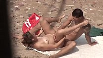 Young Couple Beach