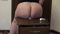 I'm fucking my big ass with dildo