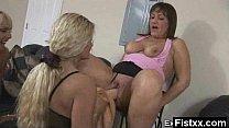 Mega Titty Fisting Gal Seduced And Rammed