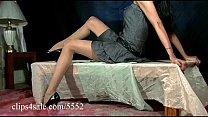Sexy Latina Pearl Anna's Pantyhose Photo Shoot