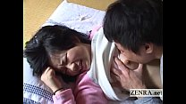 Innocent Japanese schoolgirl licked all over En...
