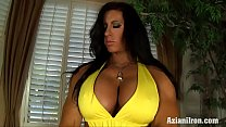 Aziani Iron Angela Salvango female bodybuilder nude