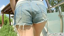 AssTraffic Anal ass fucking for big breasted tits teen Marina Visconti Vorschaubild