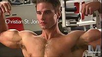 Matt Bomer Look Alike Jackoff In the Gym