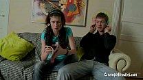 Russian Teen Couple Fooling Around