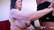 AgedLovE Horny Mature Tigger Hardcore Fucking porn image