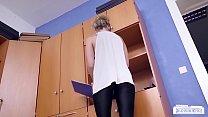 BUMS BUERO - Hot office sex with German blonde secretary Izzy Mendosa Vorschaubild