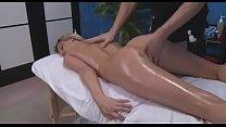 Nude oil massage