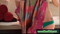 Sensual Nuru wet massage - KrisSlater & CallieNicole