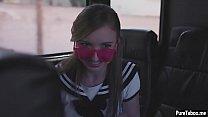 Cute schoolgirl petite teen tricked into a virtual sex [속임수 플레이 tricked]