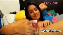 Amateur latina dildoing her cunt at TryLiveCam.com - download porn videos