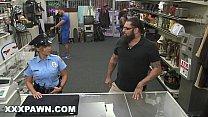 XXX PAWN - Pervy Pawn Shop Owner Fucks Latin Police Officer thumbnail