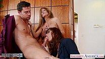 porm moves » Milf office babes Darla Crane and Syren De Mer share dick thumbnail
