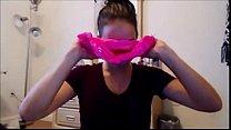 Cam Girl Smelling Dirty Panties - more at exquisitecamgirls.com Vorschaubild