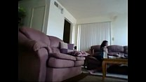 Webcam Hand Job from Cousin