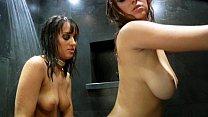 Shay Laren and Nadia Aria - Hot Shower