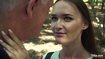 Screenshot Russian Teen  Romantic Sex with old man horny an...