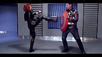 (Jessie Volt, Erik Everhard) - Skip Trace Scene...
