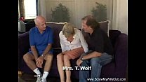 Blonde Swinger Slut Mrs. Wolf Abused Thumbnail