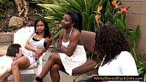 Femdom ebony ladies and white slaves - 69VClub.Com