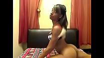 Ebony teen spreading - sluttycams.net Thumbnail