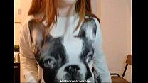 Beautiful Busty Russian Babe Masturbating - HotFuckWebcams.com