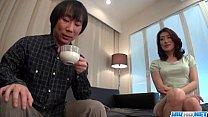 Marina Matsumoto gets fucked until a huge cream...