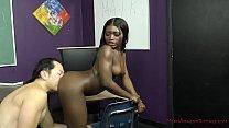 Sexy Black Student Blackmails Her Teacher - Noemie Bilas - Femdom pornhub video