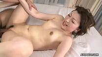 Japanese fuck doll, Remi Shirosaki got nailed and creampied, uncensored Image