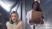 Ebony nurse anal fucks brunette patient pornhub video