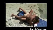 Couple make sex on a nudism beach - Amador Casal transando na praia de nudismo Vorschaubild