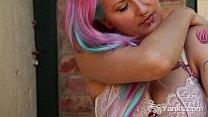Yanks Cutie Zahra Stardusts Outdoor Orgasmic Action