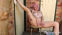Yanks Cutie Zahra Stardusts Outdoor Orgasmic Action thumbnail