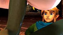 Princess Zelda fucked by Ganondorf 3D