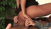 Huge dick boss seduce hot office bitch to fuck her ass - redhead creampies thumbnail