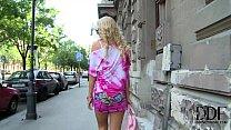 Hungarian Blonde Babe Vanda Lives The Ass Plug ... Thumbnail