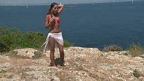 Chick in bikini strips by cliff Thumbnail