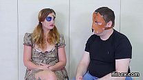 Wacky girl was brought in anal assylum for awkward treatment