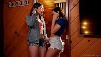 Lesbian stepsisters Abella Danger and Keisha Grey