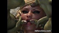 Creatures Gangbang 3D Babes!
