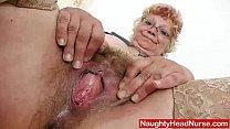 Screenshot Woolly grand ma unshaved twat closeups
