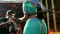 sexy actress ramya krishna showing her bare bac...