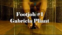 Footjob by Gabriela Pliant