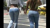 Two Latin beauties get analized thumbnail