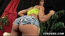 STROKIES Misty Stone Handjob's Thumb