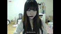 pretty korean girl recording on camera 4 - nangi aunti thumbnail