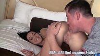 Tan Babe Sabrina Banks Gets Ass Spread and Lick...